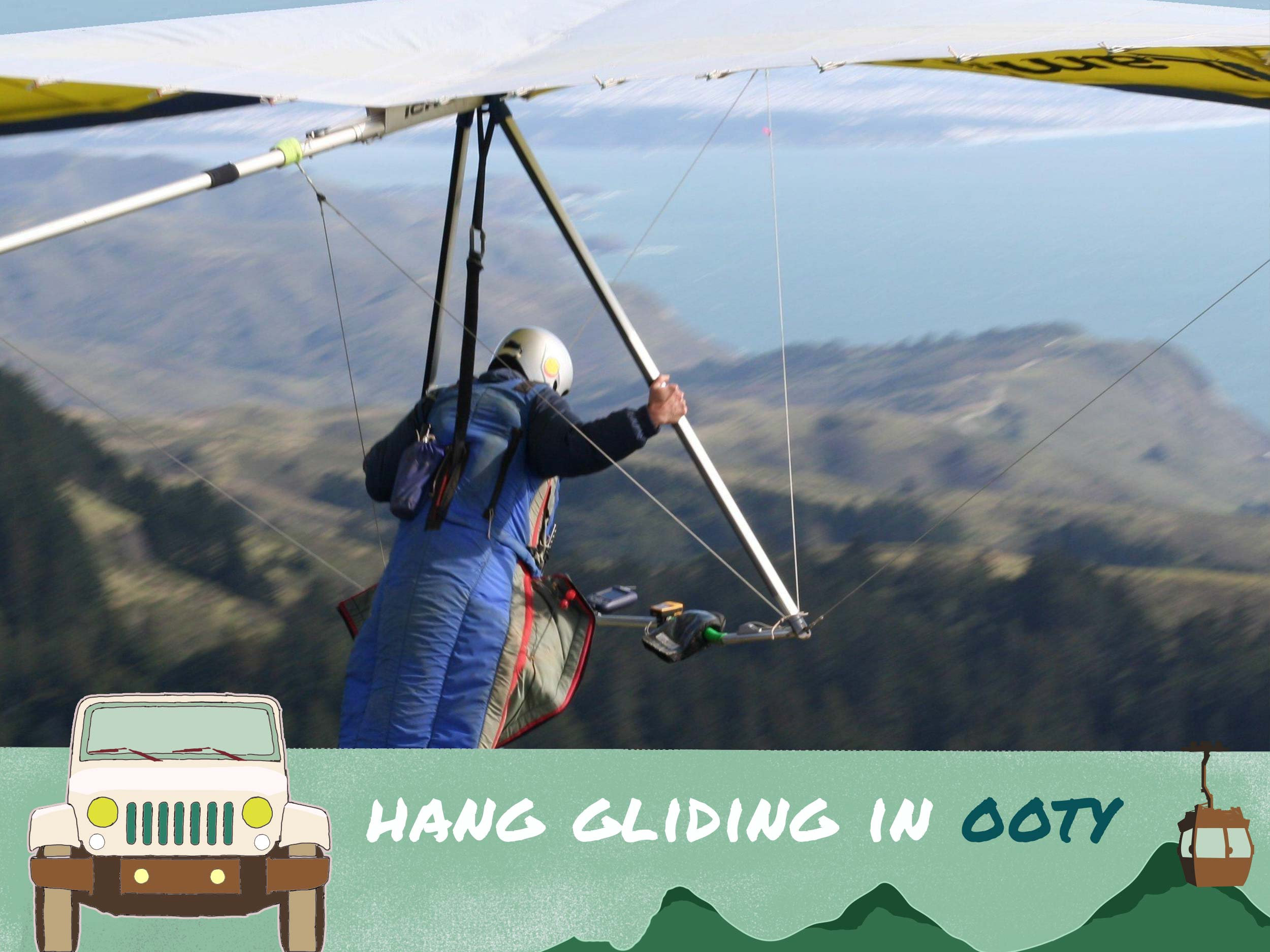 Hang gliding Ooty