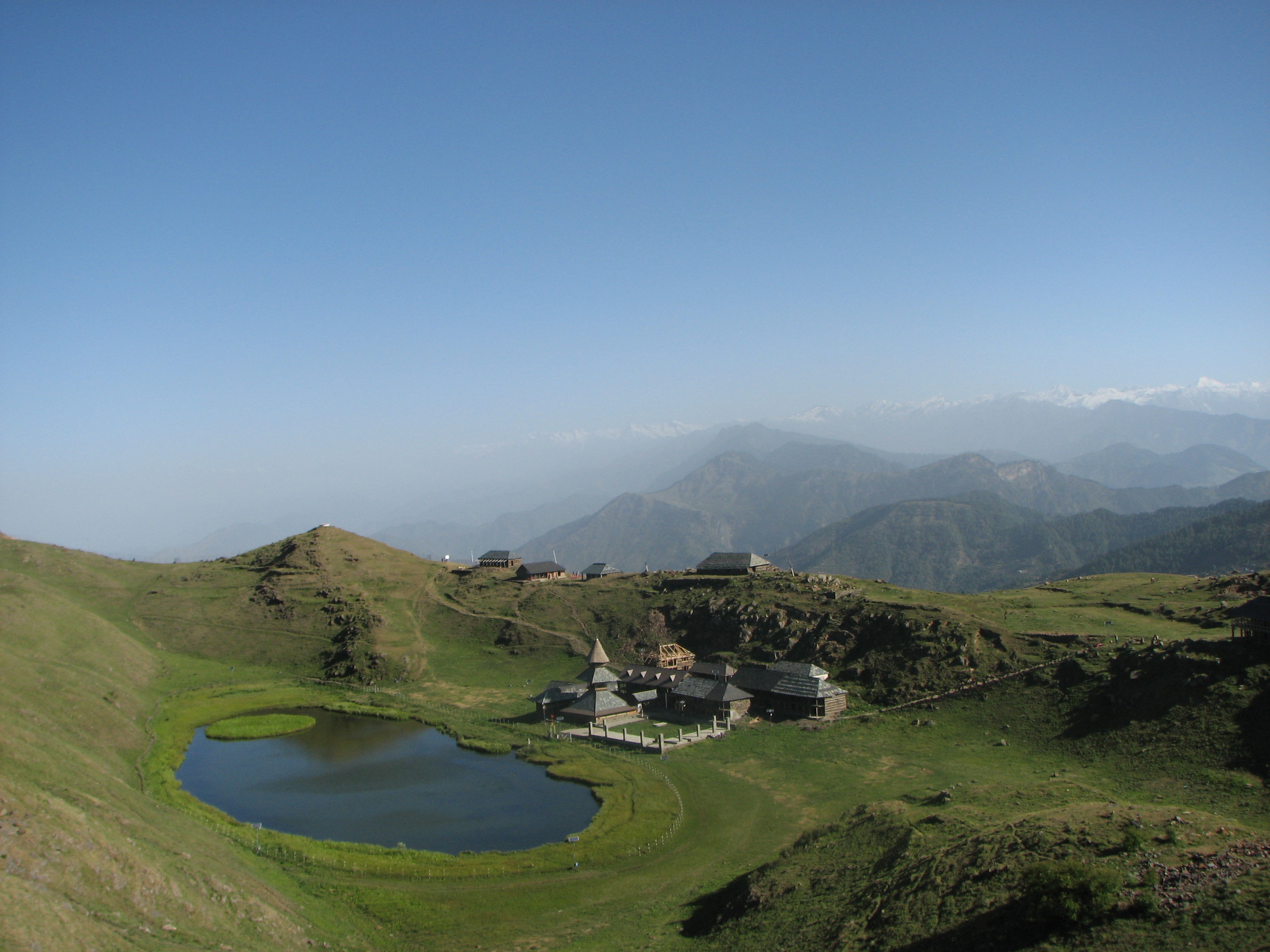 The Floating Island of Prashar Lake