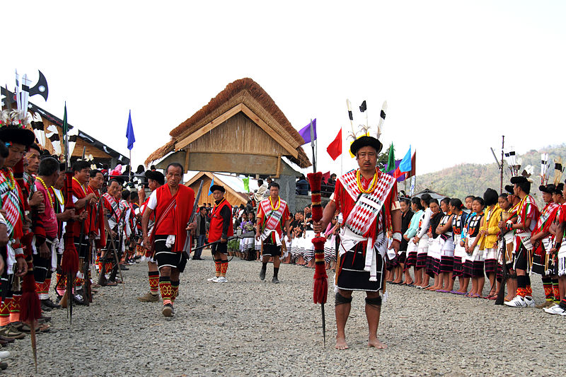 Hornbill festival- Rock and roll and rice beer