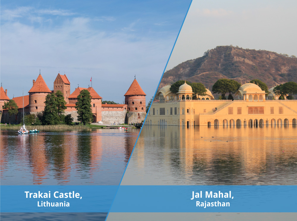 Find Lithuania's Trakai Castle in Jaipur