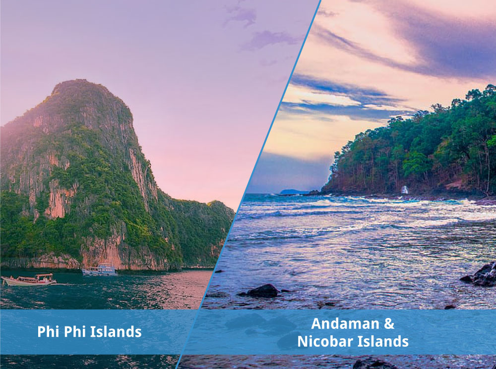 Why the Andamands > Phi Phi Islands