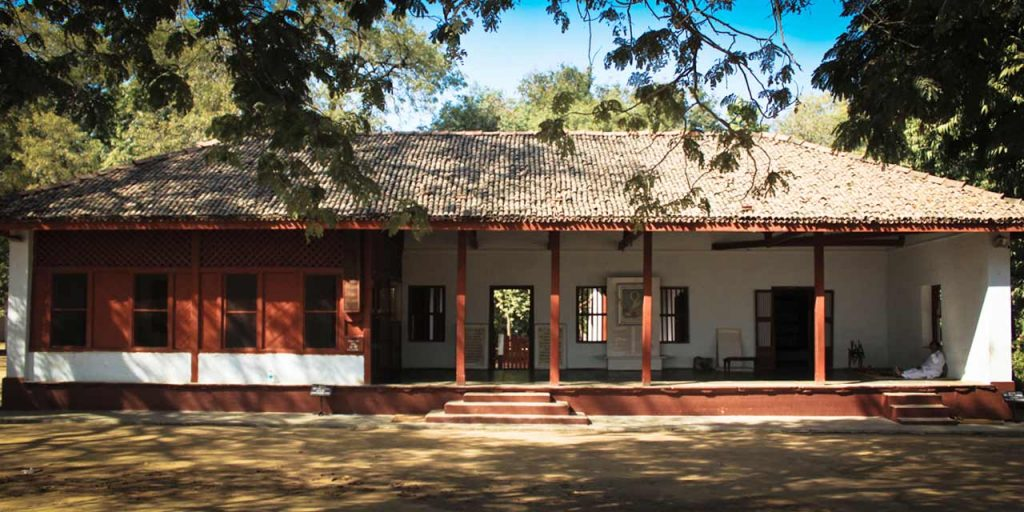 Sabarmati-Ashram-the-building